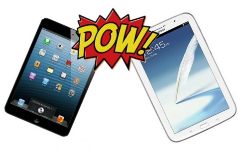 Le Match : iPad Mini ou Samsung Galaxy Note 8.0 ?