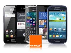 Les 5 mobiles les plus vendus chez Orange