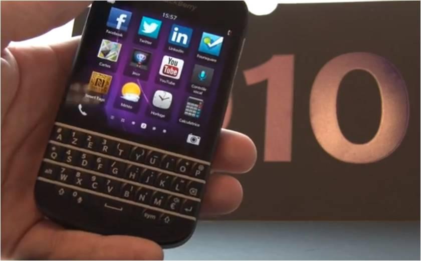 Test BlackBerry Q10
