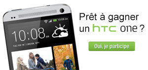 Gagnez un HTC One