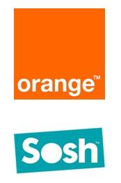 Logos Orange et Sosh