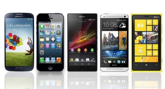Le top 10 des smartphones au 2 juillet 2013