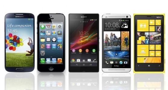 Le top 10 des smartphones au 9 juillet 2013