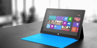 Test Microsoft Surface RT