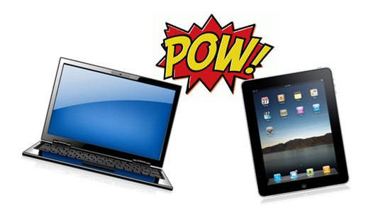 pc portable vs  tablette