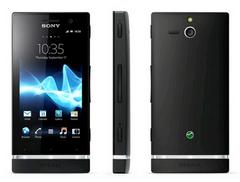 Sony Xperia U Noir : Profitez de 40� rembours�s avec SFR