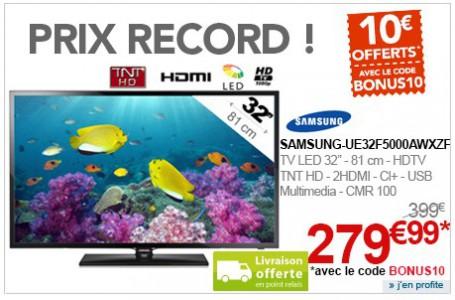 TV Samsung bon plan