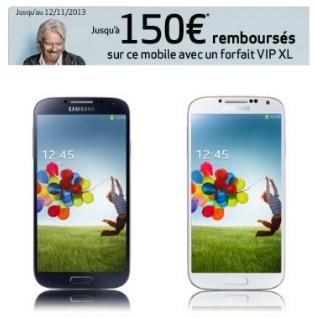 Offre de remboursement Galaxy S4