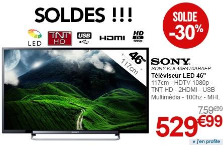 Soldes TV Rue du commerce