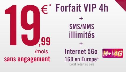 Forfait Virgin Mobile