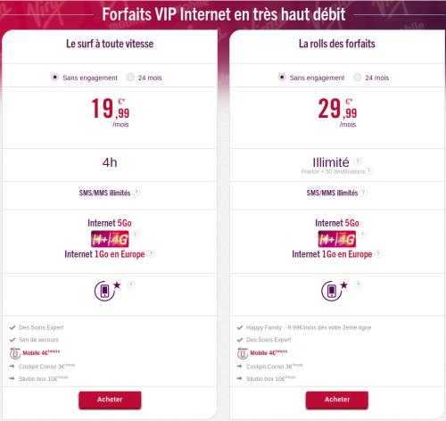 Forfaits-VIP