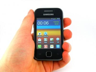 Le prix bas du jour : Le Samsung Galaxy Y � 65.16� sur Amazon