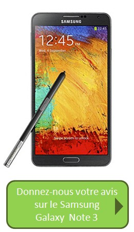 Bouton Galaxy Note 3