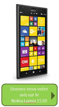 Bouton Nokia 1520