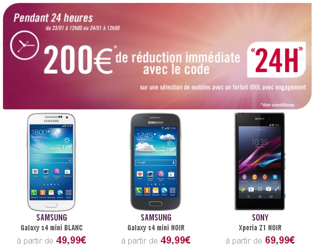 Code Promo Virgin Mobile