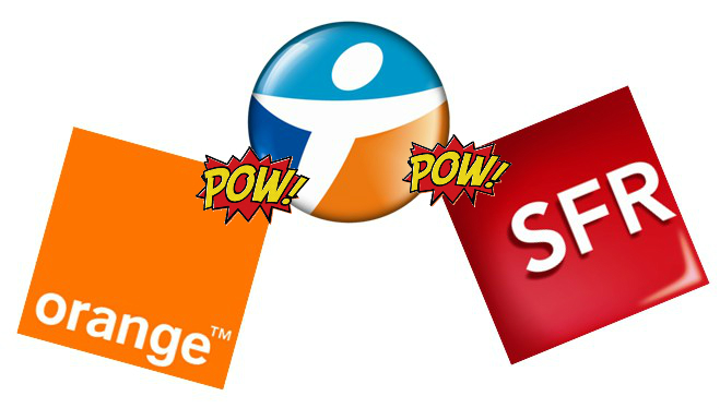 Orange SFR Bouygues Logos