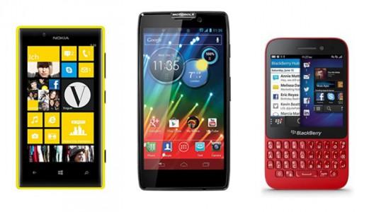 Nokia Lumia 720, Motorola Razr HD, BlackBerry Q5 : Nos bons plans pour les soldes d'hiver 2014 !