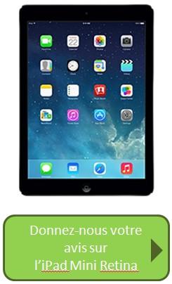iPad Mini Retina avis