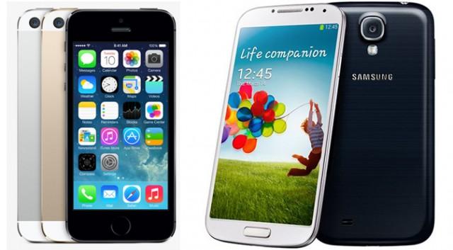 iPhone-5S-galaxy-S4