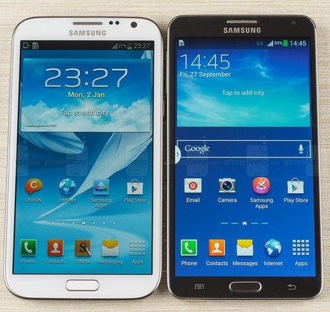 Galaxy Note 2 Note 3