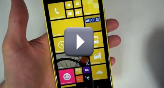 [Vid�o] Le Nokia Lumia 1520 � la loupe