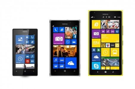 Nokia Lumia 520 925 et 1520 2
