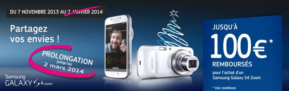 Offre de remboursement Samsung