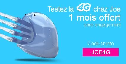 [Nouveau] Joe Mobile se lance dans la 4G !