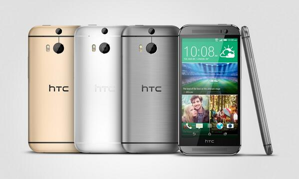 HTC One M8 couleurs