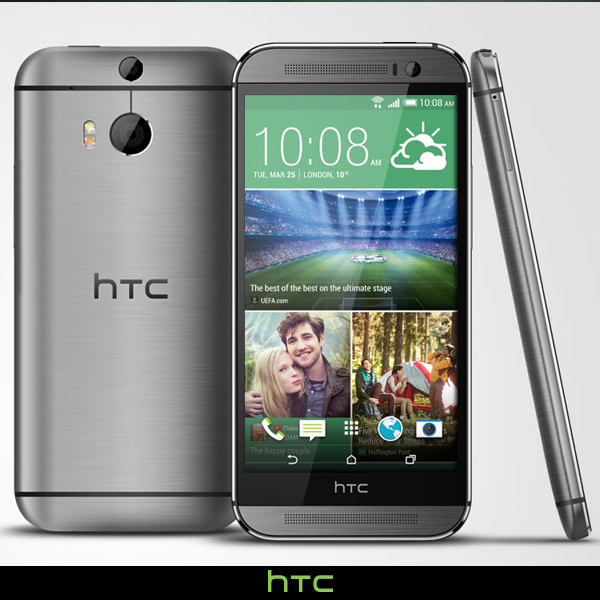 HTC One M8 face dos