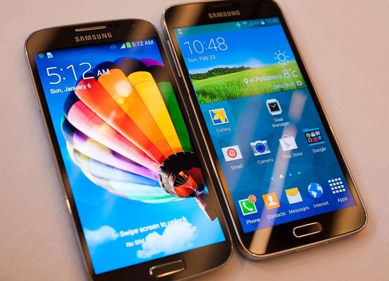 Samsung galaxy s4 Galaxy S5