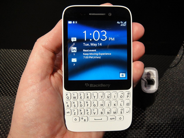blackberry-q5 blanc