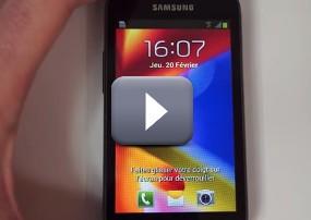 [Test vid�o] Le Samsung Galaxy Trend � la loupe