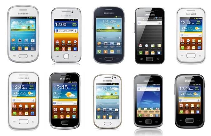 smartphones samsung pas chers