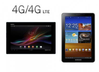 Tablettes 4G