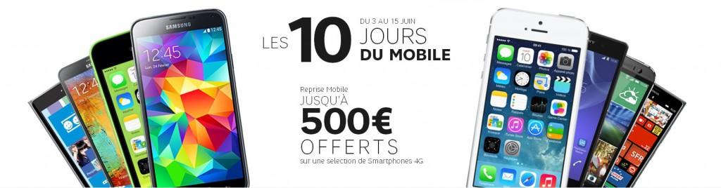 [Bon Plan] SFR offre 500€ si vous recyclez votre mobile