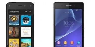 Comparatif Amazon Fire Phone vs Sony xperia Z2