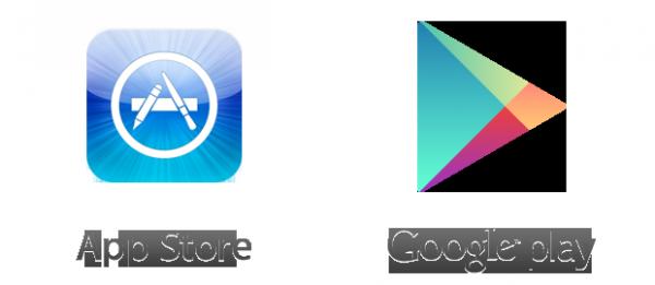 App Store et Google Play