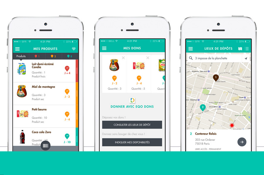 Checkfood : l'application qui dit stop au gaspillage alimentaire