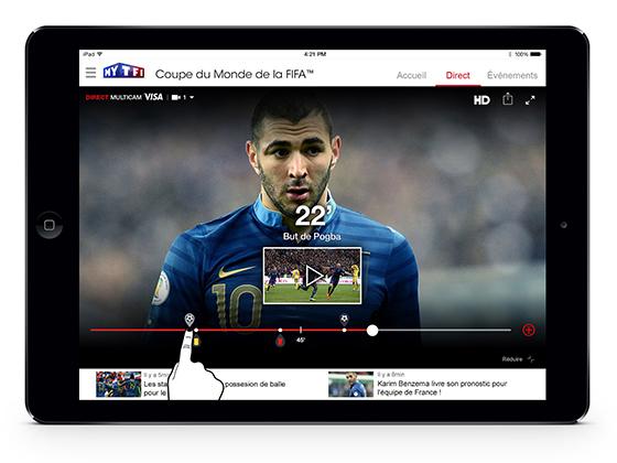 Coupe du Monde tablette