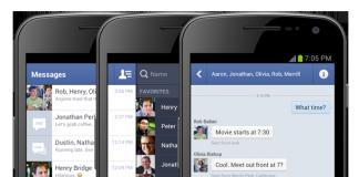 Facebook: la messagerie instantanée intègre désormais les vidéos