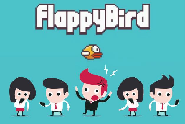 flappy bird - Flappy Bird : Une contrefaçon mal réalisée