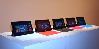 Gamme Microsoft Surface