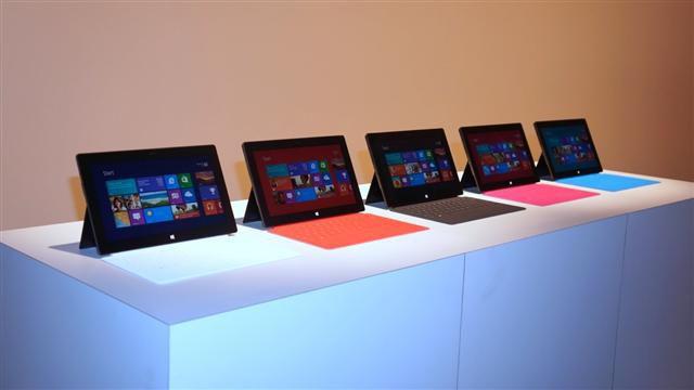 Gamme Microsoft Surface