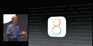 fonctionnalités iOS 8
