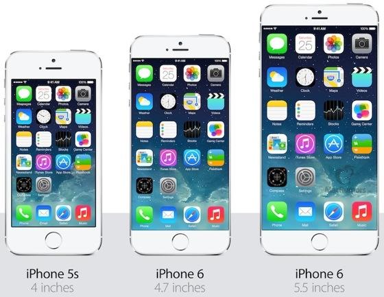 Nouveaux modèles iPhone 6