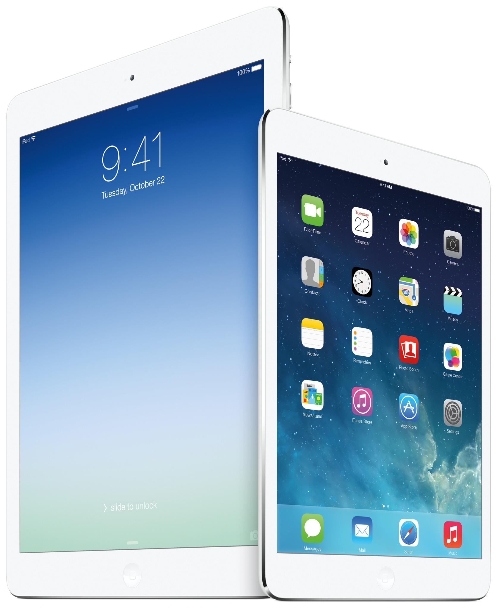 15€ chez Price Minister pour l'iPad Air et l'iPad mini retina