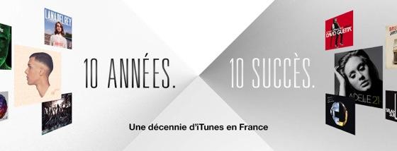 Apple fête les 10 ans d'Itunes