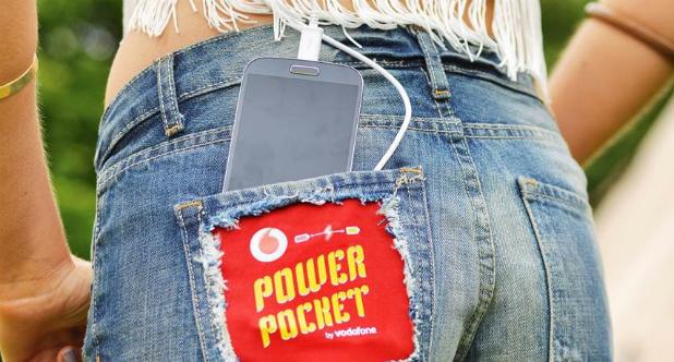 Microsoft : un jean pour recharger son smartphone