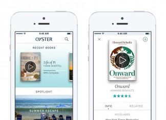 Oyster: votre catalogue de livres numériques